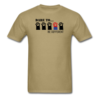 Be Different T-Shirt - khaki