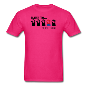 Be Different T-Shirt - fuchsia