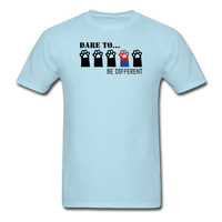 Be Different T-Shirt - powder blue