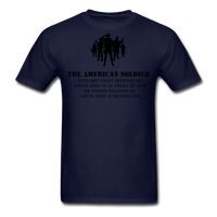 American Soldier T-Shirt - navy