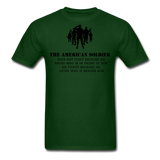 American Soldier T-Shirt - forest green