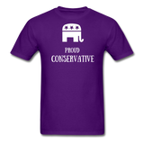 Proud Conservative T-Shirt - purple
