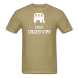Proud Conservative T-Shirt - khaki