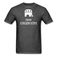 Proud Conservative T-Shirt - heather black