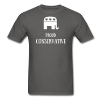 Proud Conservative T-Shirt - charcoal