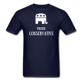 Proud Conservative T-Shirt - navy