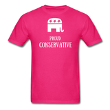 Proud Conservative T-Shirt - fuchsia