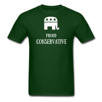 Proud Conservative T-Shirt - forest green