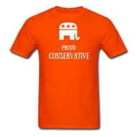 Proud Conservative T-Shirt - orange