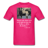 Equal Rights - Religious Tee - fuchsia