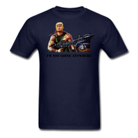 Trump Rambo T-Shirt - navy