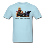 Trump Rambo T-Shirt - powder blue