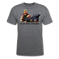 Trump Rambo T-Shirt - mineral charcoal gray