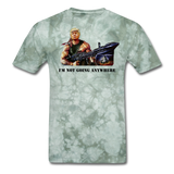 Trump Rambo T-Shirt - military green tie dye