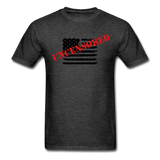 USA Uncensored T-Shirt - heather black