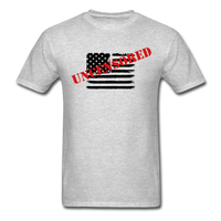 USA Uncensored T-Shirt - heather gray