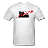 USA Uncensored T-Shirt - light heather gray