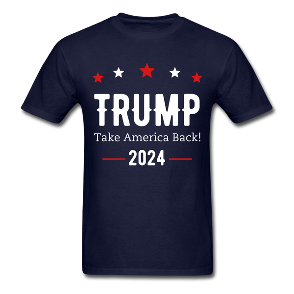Trump 2024 Shirt - navy