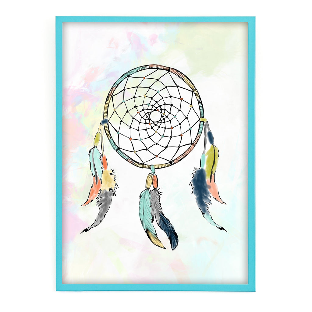 Free Printable Dreamcatcher Wall Art for Kids