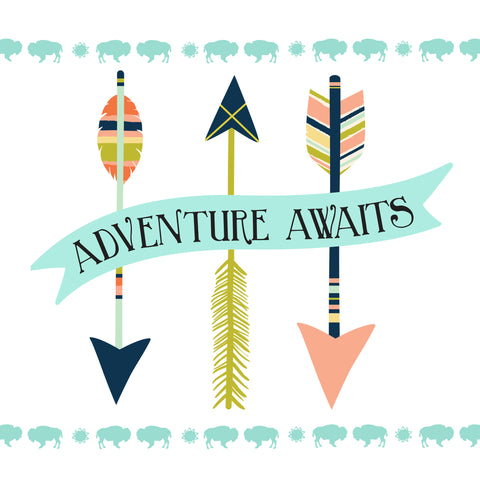 adventure awaits wall art for kids free printable