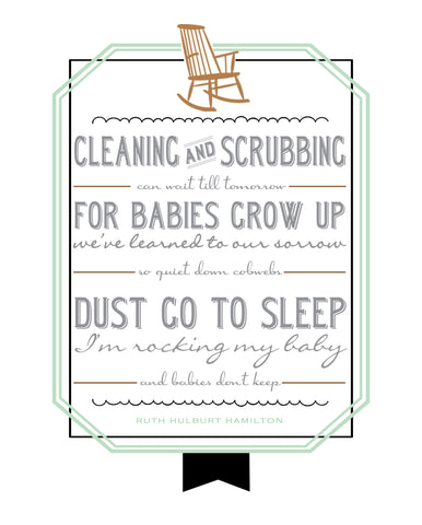 babies don't keep nursery wall art free printable