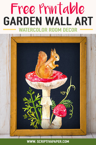squirrel garden wall art decor pinterest