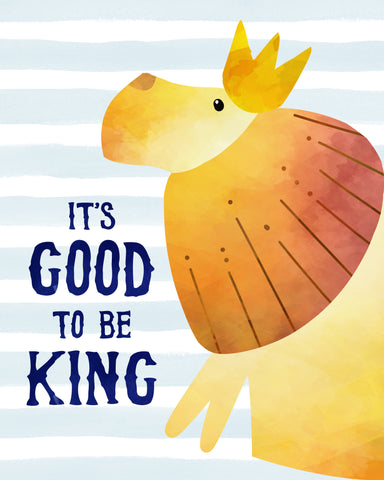 its good to be king lion wall decor for nursery or bedroom