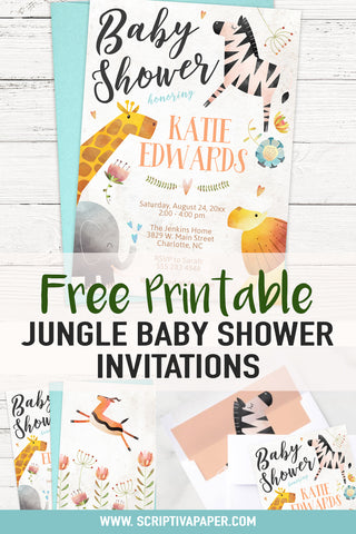 jungle and safari themed baby shower pinterest