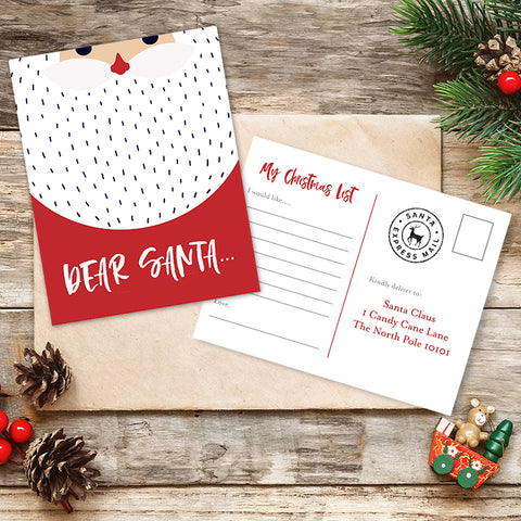 printable letter to santa template free download