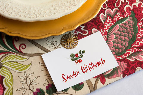 thanksgiving place card ideas DIY printable free