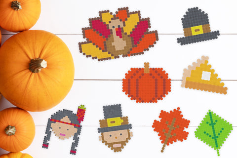 free thanksgiving perler bead designs