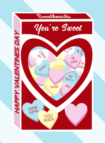 free printable valentine gift tag diy sweetheart candy