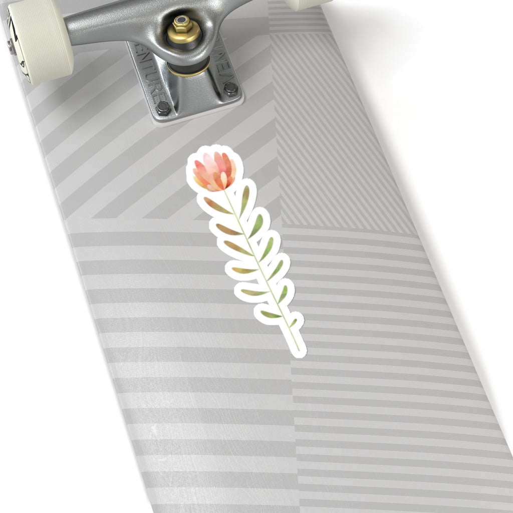 Tall Flower Sticker