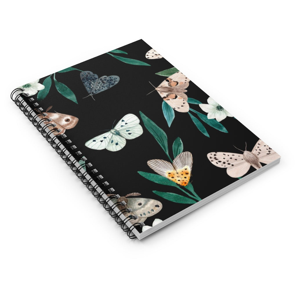 Night Butterfly Notebook