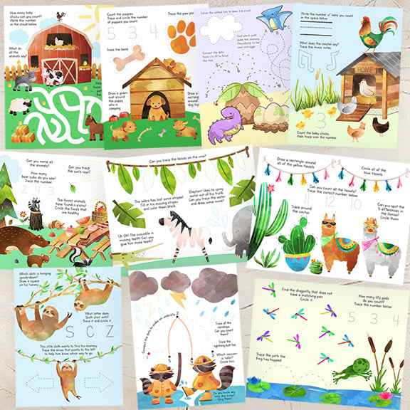 preschool activity sheets