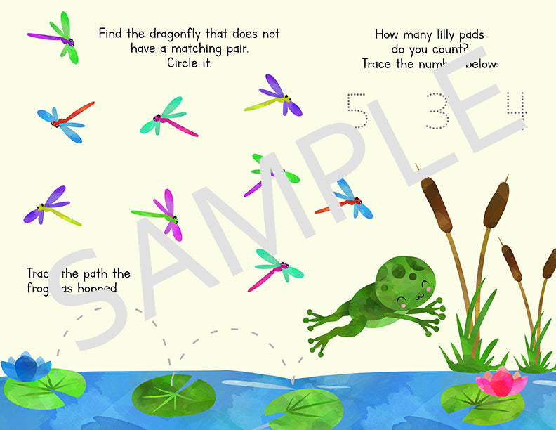 10 Activity Sheets for Pre K and Preschool
