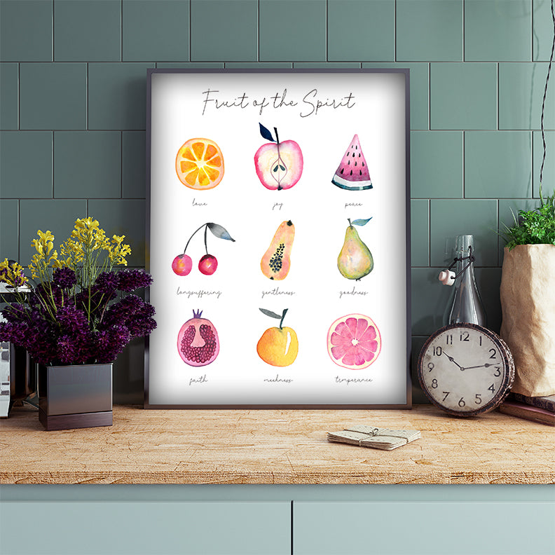 Fruit of the Spirit Wall Art