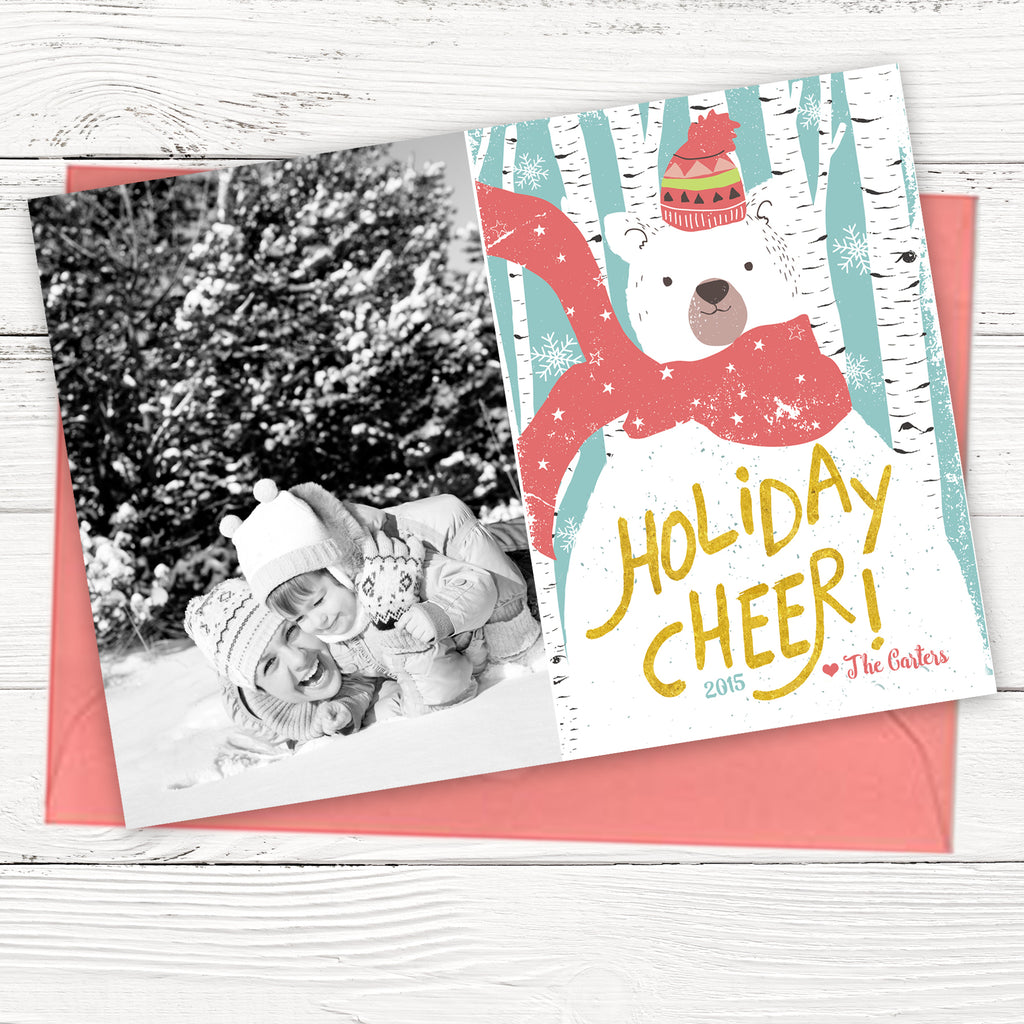Holiday Cheer Christmas Card