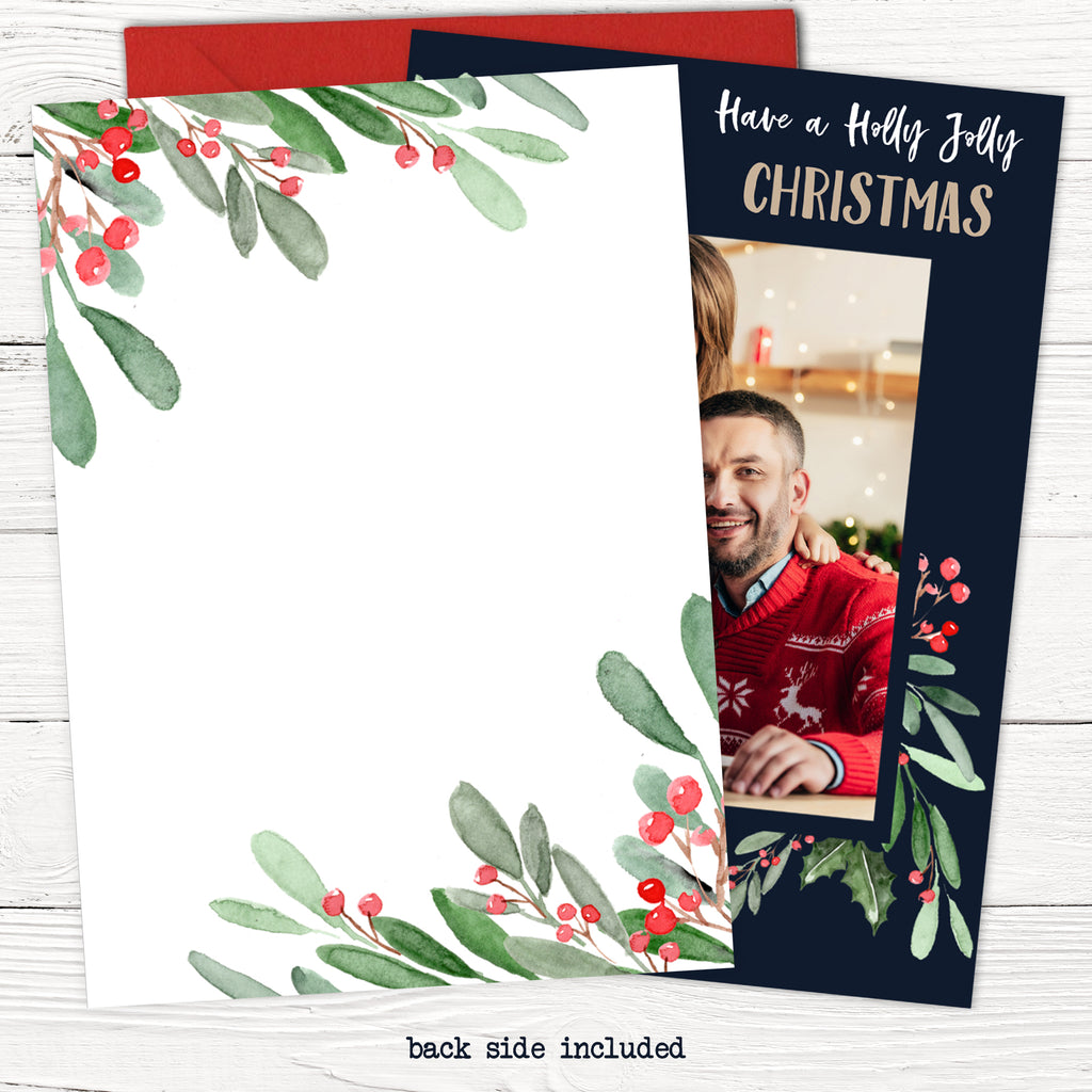 Holly Jolly Christmas Card