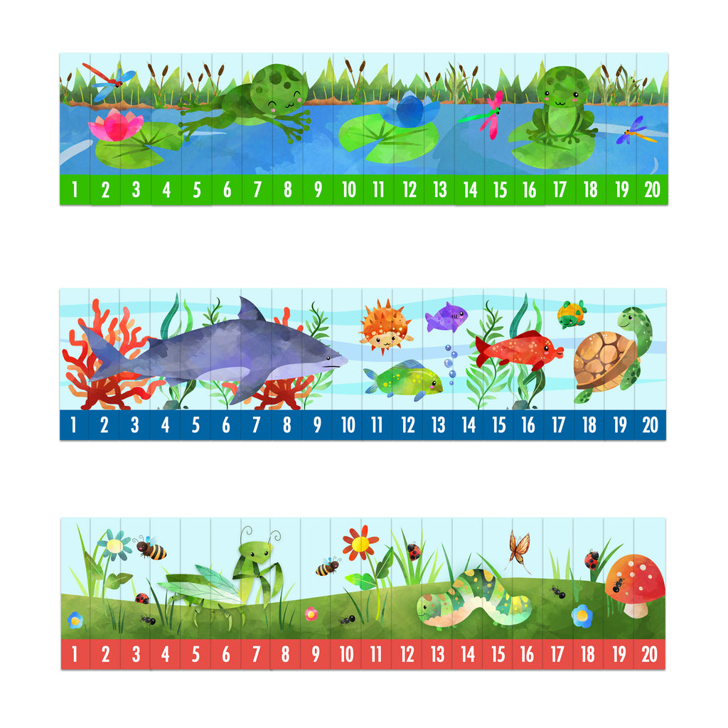 Preschool Number Sequencing Puzzles