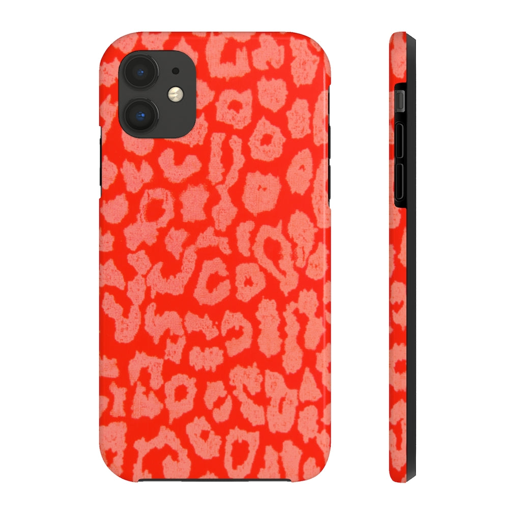 Pink Leopard iPhone Case