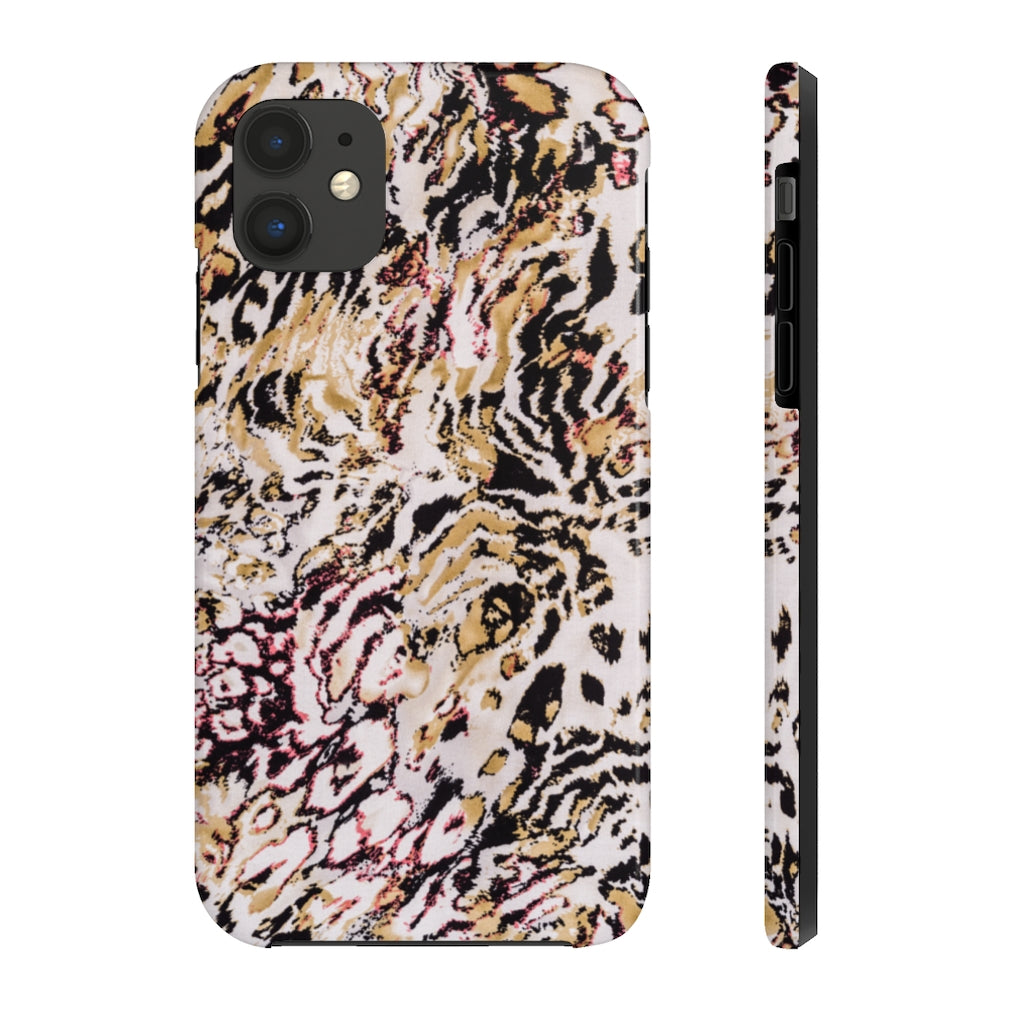 Touch of Pink Leopard Phone Case
