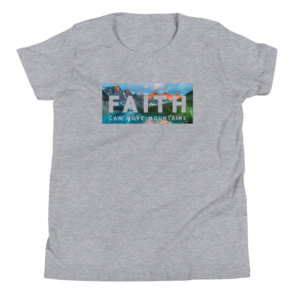 Faith Can Move Mountains Youth Tee
