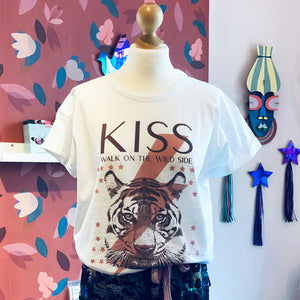 T-Shirt Kiss Walk on the wild side