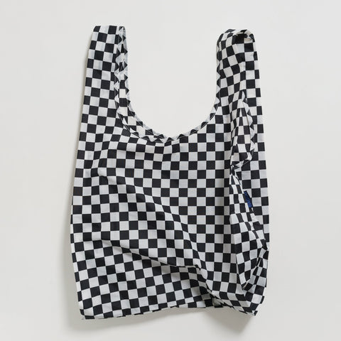 Nylontasche Black Checkerboard