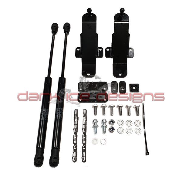 Ford Fiesta mk7 Bonnet Gas Strut Lifter Kit v2