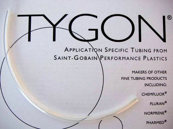 "Tygon 2375 Tubing 3/8"" 10mm ID 30cm 1 foot length"