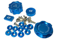 MG Rover Aluminium Engine Caps Set - Diesel & T16