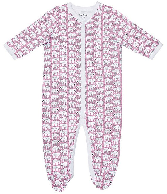 Roller Rabbit Elephant Infant Pajama Set