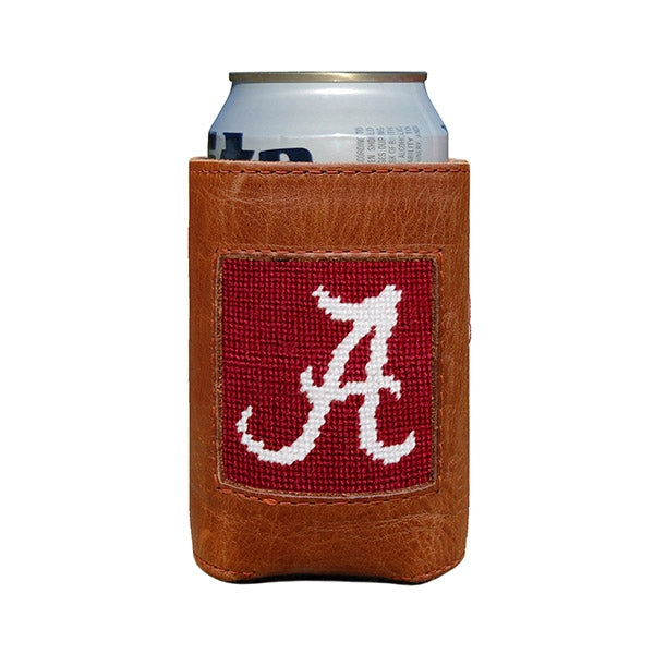 Smathers & Branson Leather Can Cooler